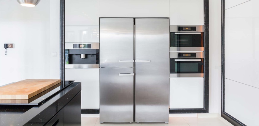 Image of one of our designer kitchens in Gold Coast