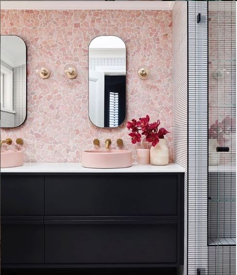 Image of a trending bathroom design in Australia
